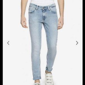 MYNTRA Faded Jeans